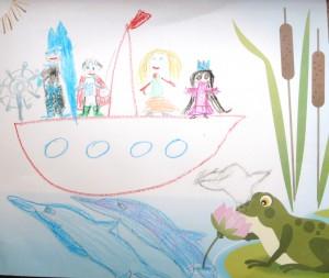 Иллюстрация к сказке - Адам и Ноя