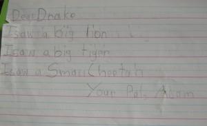 Письмо Дрейку