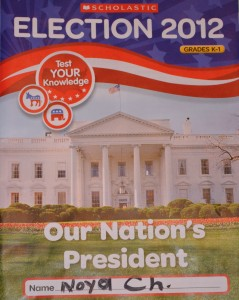 Scholastic - Elections for 1st grade