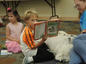 Чтение собакам - библиотека Сан-Хосе