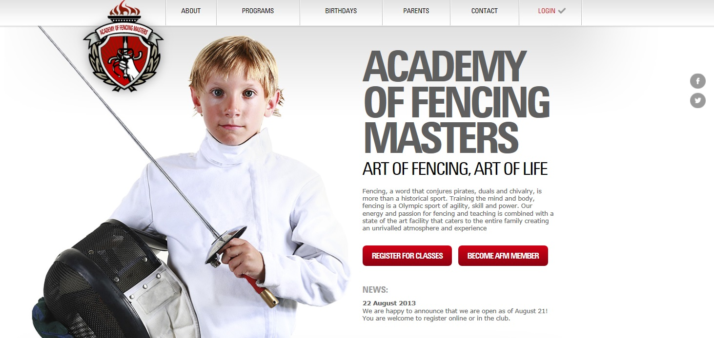 Academy of Fencing Master