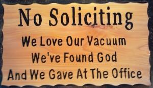 Без пожертвований!  Мы любим наш пылесос, мы нашли своего бога, мы пожертвовали уже в офисе!